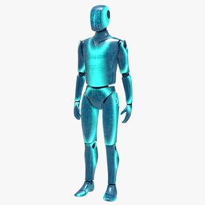futuristic robot 3d model
