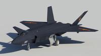 3d model of j 20