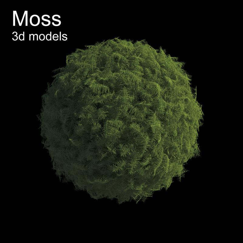 3d moss