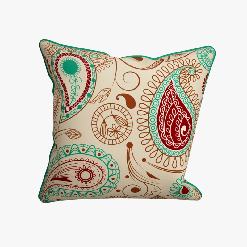 pillow photorealistic cucumber 3d 3ds