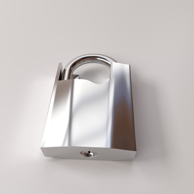 3d padlock v3