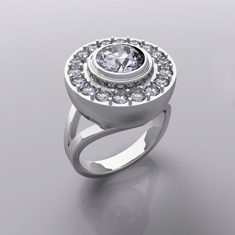 3ds max jewelry ring air