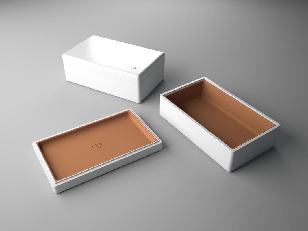 3d jewelry jewel box model