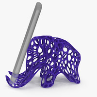 Mammoth Holder for Mobile Phone 3D Printable