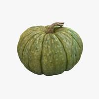 3d model pumpkin 04