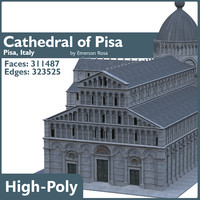 3d cathedral pisa
