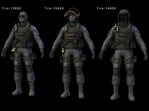 3d aaa solider gign
