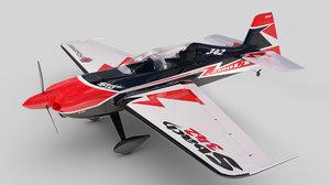 3d sbach 342 aerobatic xa-42 model