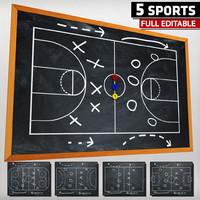 sport chalkboard tactical max