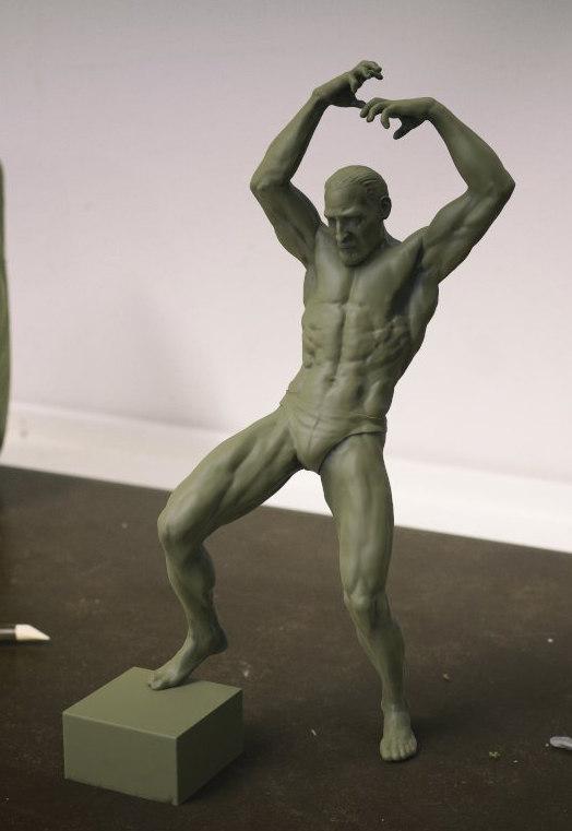 dynamic figure 3d model