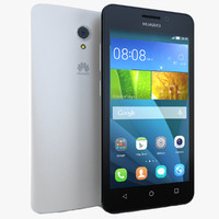 3d huawei y635 white model