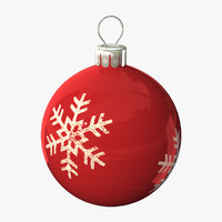 balls christmas 3d max