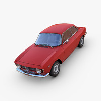 3d alfa romeo gta model