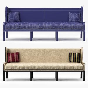 casamidy ixelles sofa 3d max