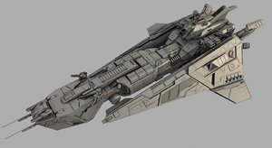 battle space ship max