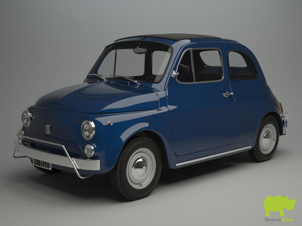 3ds fiat 500 l 1970