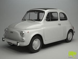 3ds max fiat 500 r 1975