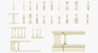 Balusters pack 1