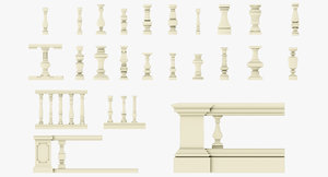 baluster pack 3ds
