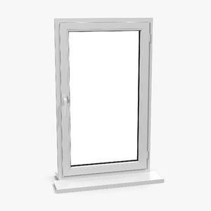 3d model plastic window