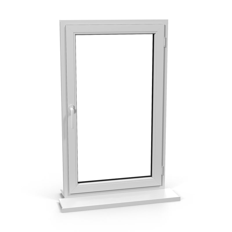 3d model plastic window