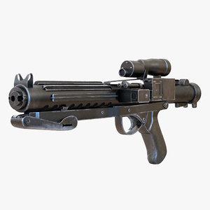 star wars stormtrooper gun 3d max