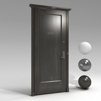 3d model apartment door