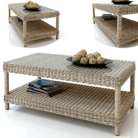 Rattan table journal