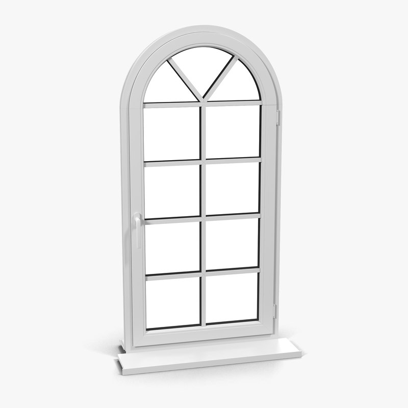 plastic window 7 3d model