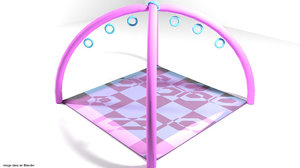 3d baby playmat mats