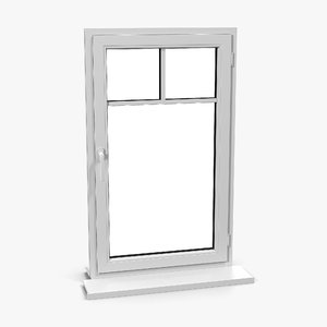 3d model plastic window 5