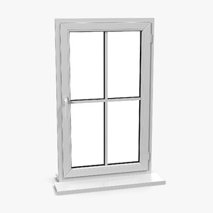 3ds max plastic window 2