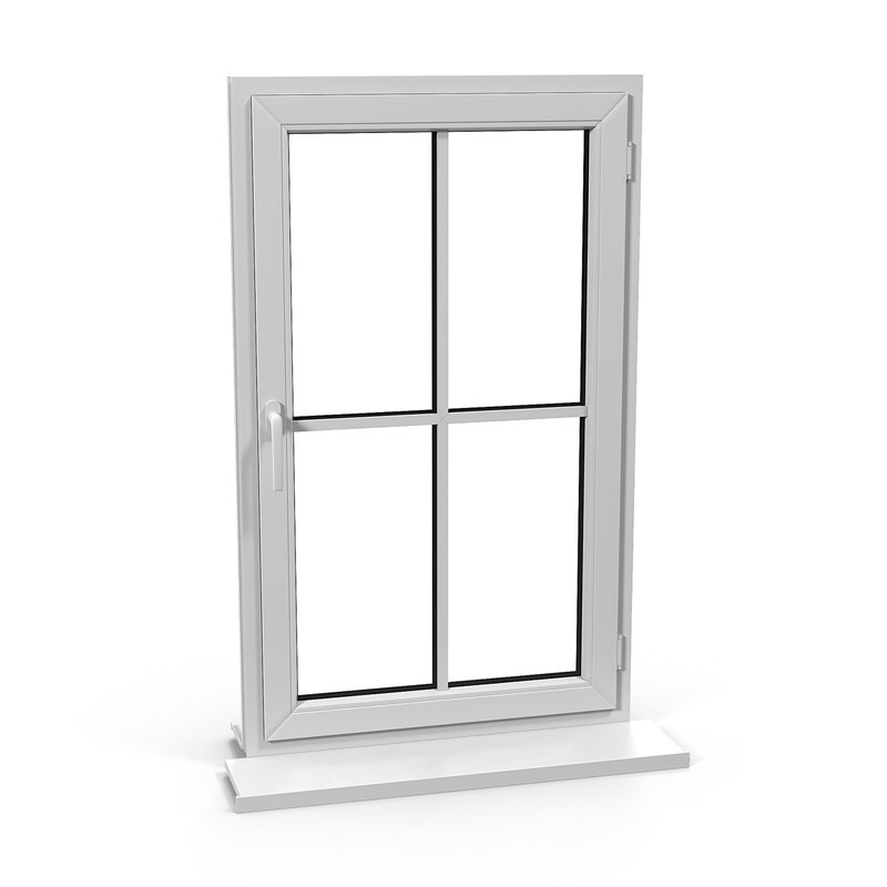 3ds max plastic window 2