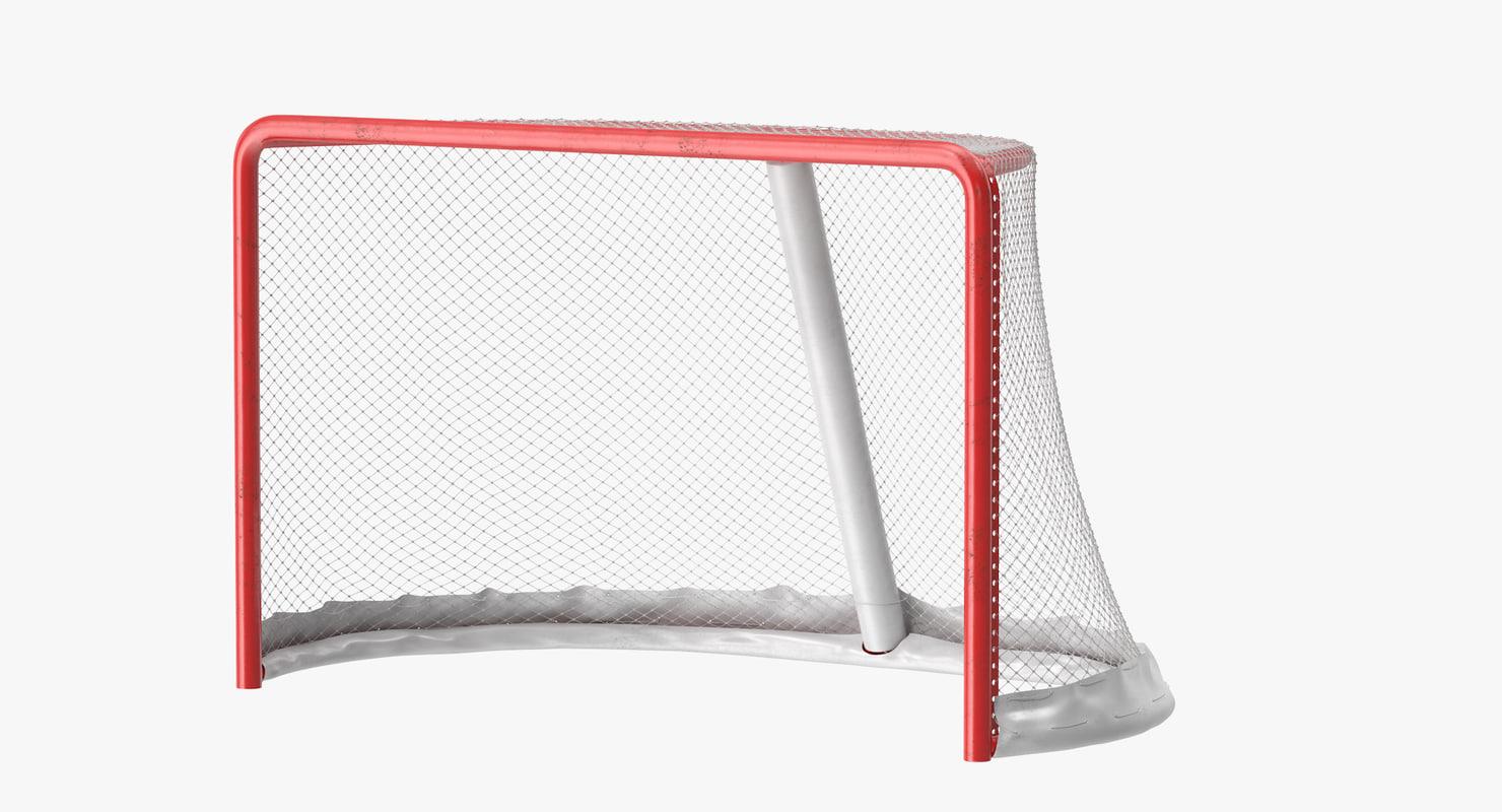 3ds max hockey goal