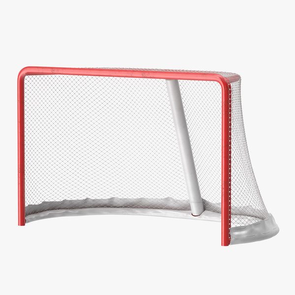 3ds max hockey goal