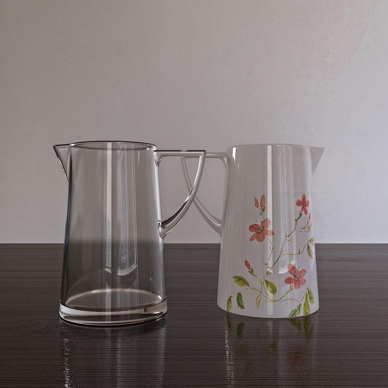 pitcher kitchen interior 3d model