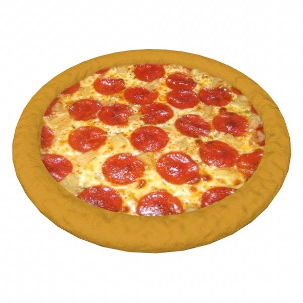 pizza 3d obj