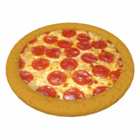 pizza 3d obj