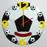 3d model wall clock