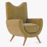 Salon Ambassador Chair By Jean Royere