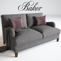 Baker, Churchill Loveseat No. 6121L, Michael S Smith