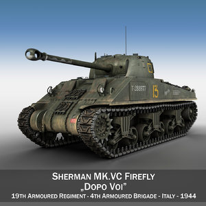 3ds max m4 sherman firefly vc