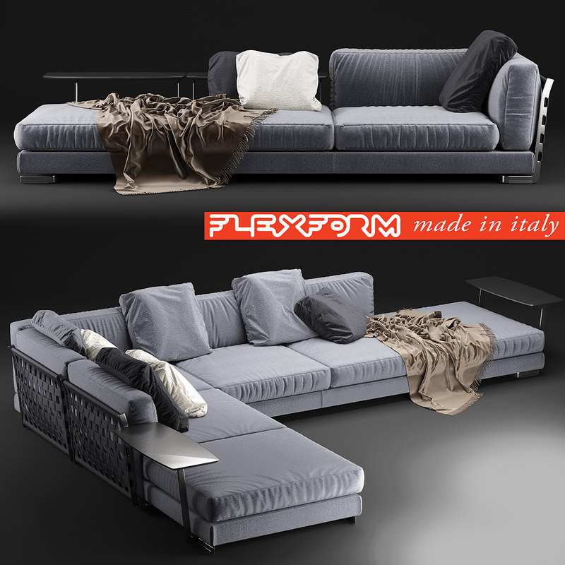 3d model sofa cestone 09
