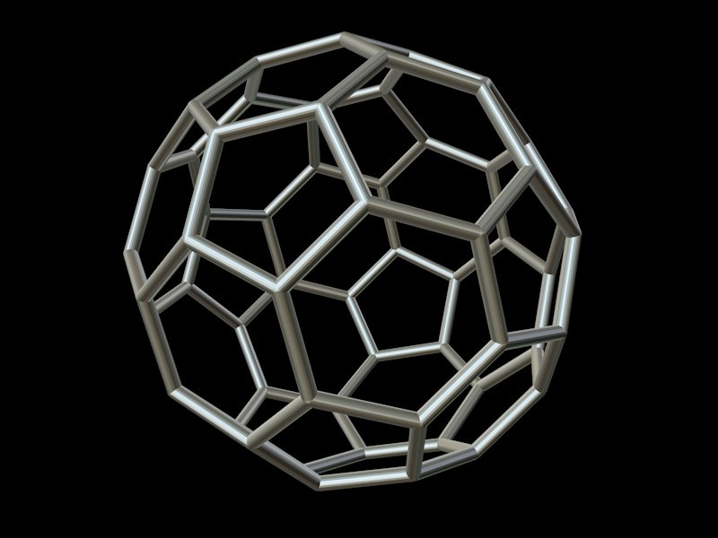 maya 0001 8-grid truncated icosahedron