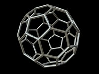 maya 0001 8-grid truncated icosahedron