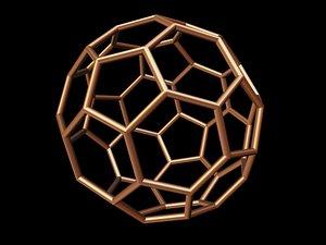 3d 0005 8-grid truncated icosahedron