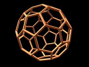 maya 0007 8-grid truncated icosahedron