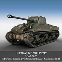 3ds m4 sherman firefly vc