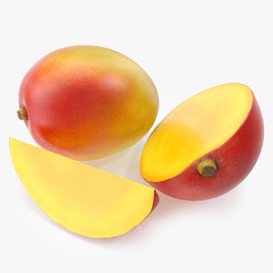 3d model mango photorealistic