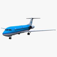 Fokker 70 KLM Cityhopper